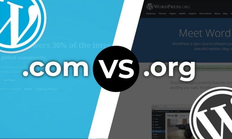 Photo of Der Unterschied zwischen Wordpress und Wordpress.com